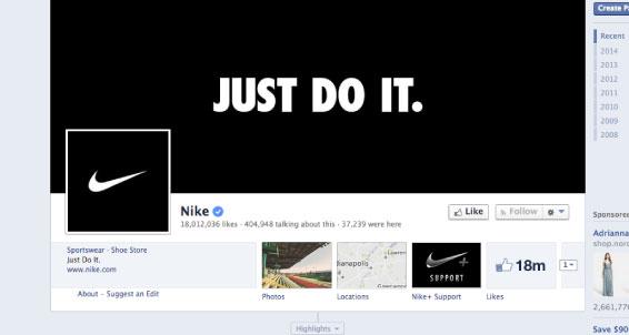 Пример аватара страницы с логотипом компании